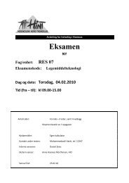 RES 07 - Legemiddelteknologi - 04022010
