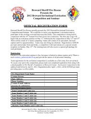 download and mail in the registration form - Broward Sheriff's Office