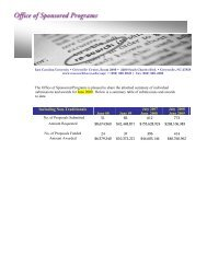 Fiscal year 2008-2009.pdf - East Carolina University