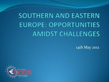 Southern and Eastern Europe - eBace