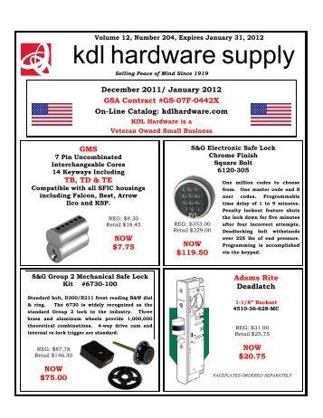 hardware supply kdl - KDL Hardware Supply