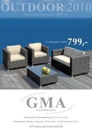 49,90 - GMA - Garten Möbel Anders