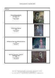 Katalog Ölmalerei - Galerie Oben
