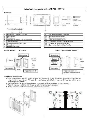 notice technique – automatisme pp60 pour porte  - wayne dalton