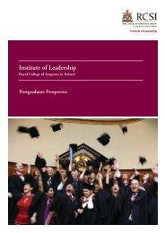 Ireland Prospectus 2013/14 - Institute of Leadership