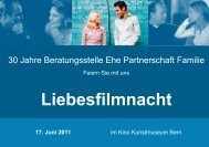 Liebesfilmnacht als PDF - Eheberatung Bern