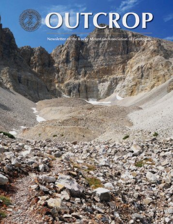 October 2011 - Rocky Mountain Association of Geologists