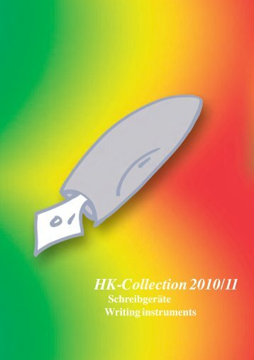HK-Collection 2010 / 2011 Catalogue - Hauff Konstanz ...