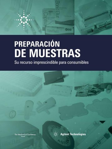 Descargar Catálogo Preparación de Muestras - Grupo BioMaster