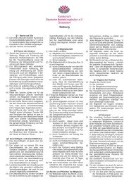 Satzung - Bundesverband Deutscher Bestatter e.V.