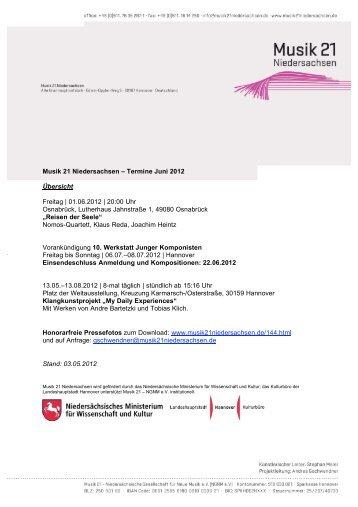 M21N_Termine_Juni 2012 - Hauptsache Musik