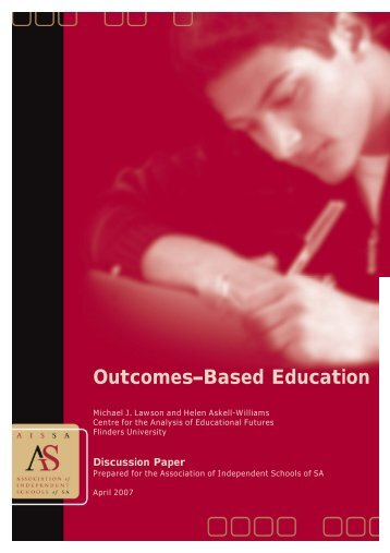 Outcomes Based Education 1