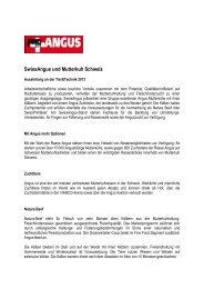 36 SwissAngus und Mutterkuh Schweiz - Olma