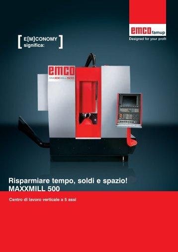 MAXXMILL 500 - Emco Maier GmbH