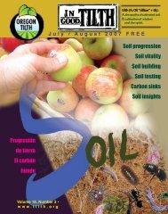 Soil progression Soil vitality Soil building Soil testing ... - Oregon Tilth