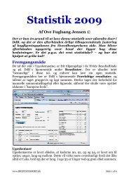 Statistik 2009 Statistik 2009 tistik 2009