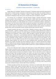 Commento di Enzo Bianchi - ACLI Trentine