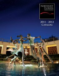 Full Catalog (7.21 MB) - Northwest Florida State College