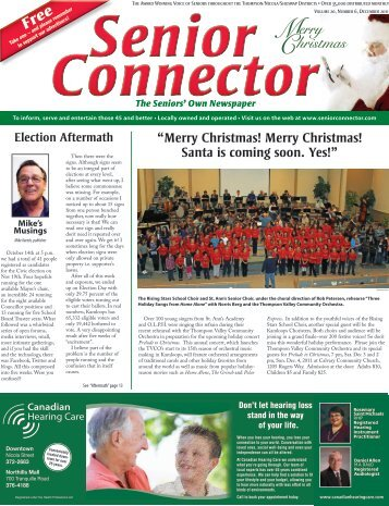 December - Senior Connector