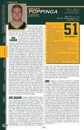 POPPINGA - Packers