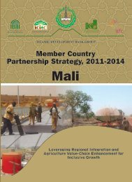 Member Country Partnership Strategy - Islamic Development Bank