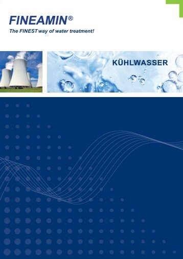FINEAMIN Chemikalien zur Kühlwasserbehandlung