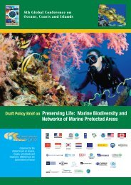 Policy brief covers - Global Ocean Forum