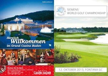 Ausschreibung - Golfclub KSV Siemens