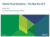 Hybrid Cloud Solutions – The New Era of IT - WorldHostingDays