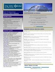 February 2013 e-Bulletin(.pdf) - Pacific Rim Advisory Council (PRAC)