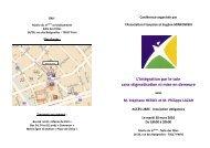 L'intégration par le soin sans stigmatisation ni ... - Portail Minkowska