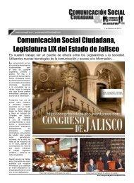 Comunicación Social Ciudadana, Legislatura LIX del Estado de ...