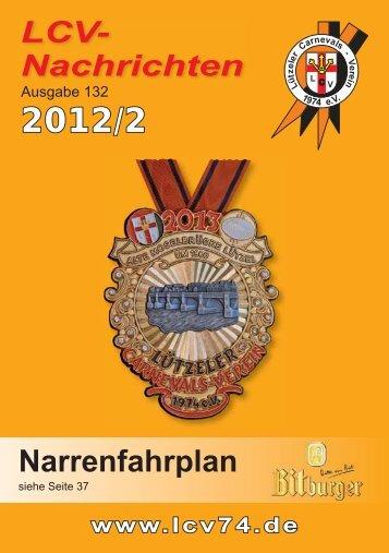 LCV-Nachrichten 2012 Ausgabe 132