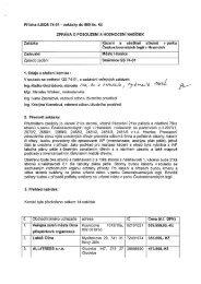 Zpráva o posouzení a hodnocení nabídek - Město Hranice