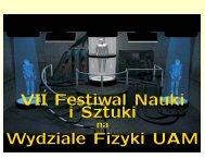Teleportacja --- VII Festiwal Nauki i Sztuki (pdf)