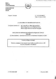 Cour Pénale j / ^ . ^ \ Internationale International ^ ^ ^ ^ Criminal Court