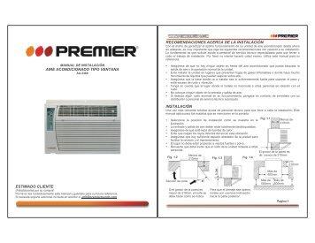 aire acondicionado tipo ventana estimado cliente ... - Premier