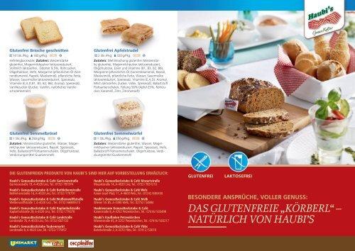 """Das glutenfreie """"Körberl"""" – natürlich von haubi's - Haubis"""