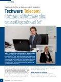 Techware Telecom: Omdat efficiency niet vanzelfsprekend is ... - Page 6