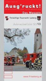 Ausg'ruckt! Ausg'ruckt! - Freiwillige Feuerwehr Lasberg