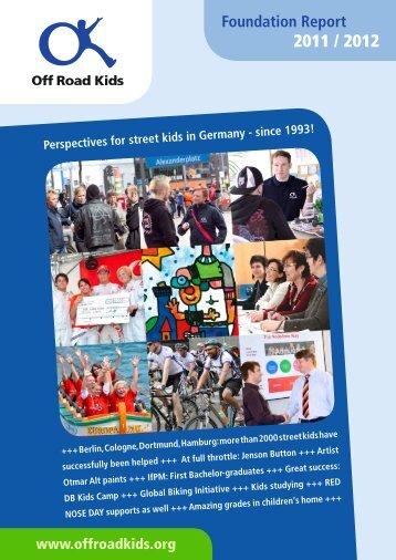 Foundation Report - Vodafone Stiftung
