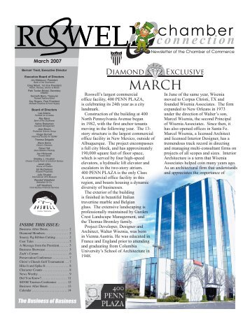 Chamber Connection - Roswell, New Mexico, Chamber of Commerce