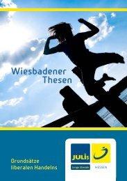 Wiesbadener Thesen - Junge Liberale Hessen