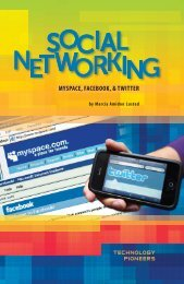 Social Networking: MySpace, Facebook, & Twitter - Sharyland ISD