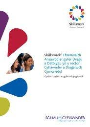 Skillsmark® Fframwaith Ansawdd ar gyfer Dysgu a Datblygu yn y ...