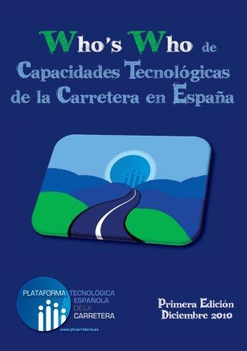 de Capacidades Tecnológicas de la Carretera en España, PTC ...