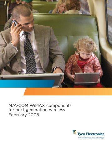 WiMAX brochure_Feb08_singles.qxd - RfMW