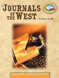 Lesson 5:Journals of the West