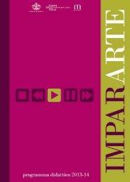 Impararte 2013-14 pdf - Palazzo Ducale