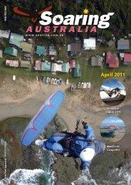 April - Hang Gliding Federation of Australia